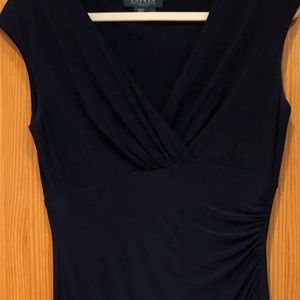 Ralph Lauren dress in navy, size 6